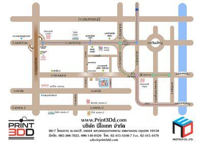 P3DD NEO map