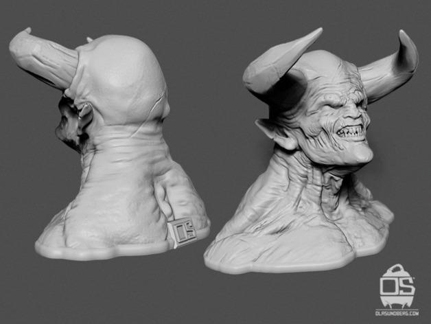 Print3dd Devil Model 05