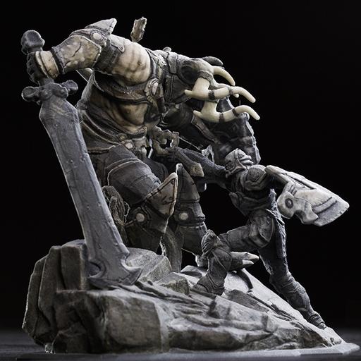 infinity-blade-3d-printed-figurines-4