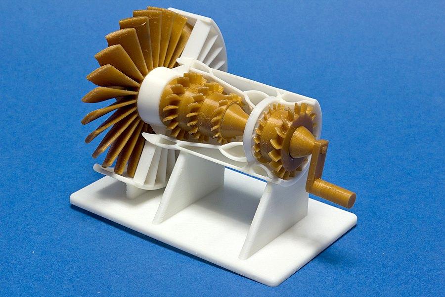 GE Turbo Jet 3D Printing 01