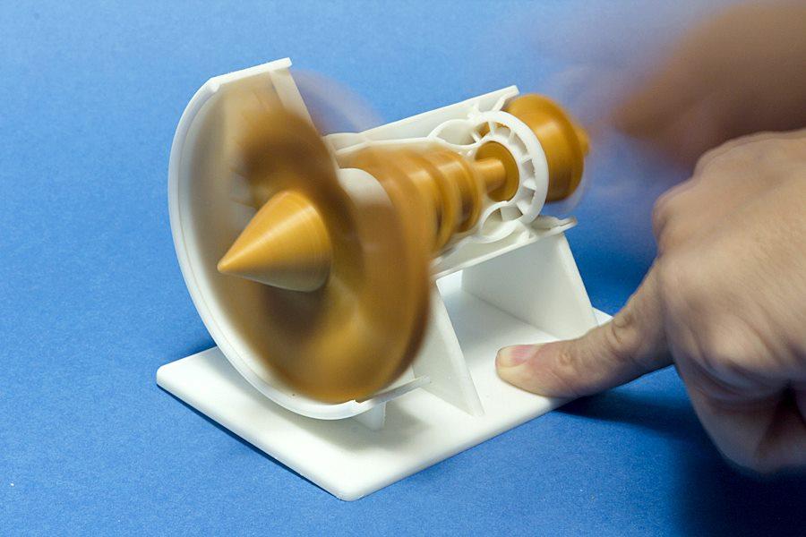 GE Turbo Jet 3D Printing 02