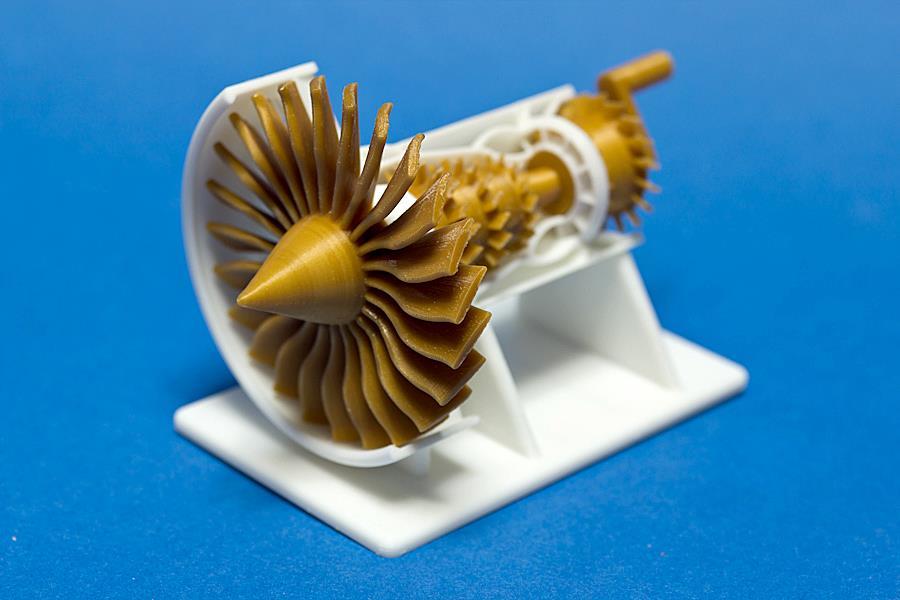 GE Turbo Jet 3D Printing 04