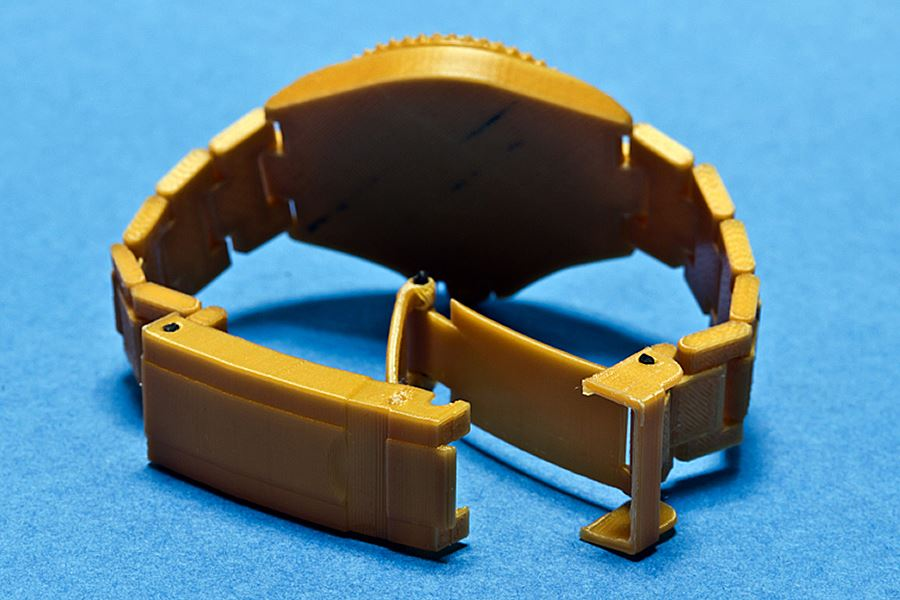 Golden Watch 3D Printing 03