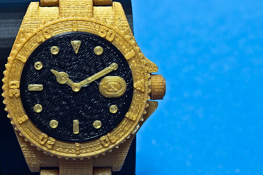 Golden Watch 3D Printing 04