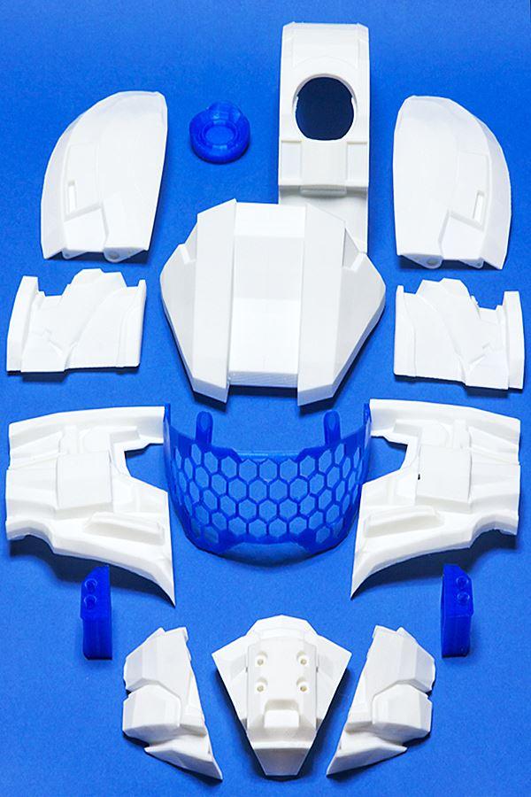 Halo Helmet 3D Printing 01