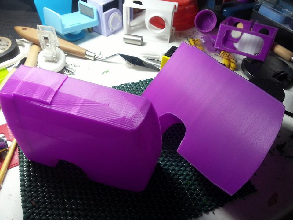 3D Print รถบริจาคโลหิต Flashforge creator 11