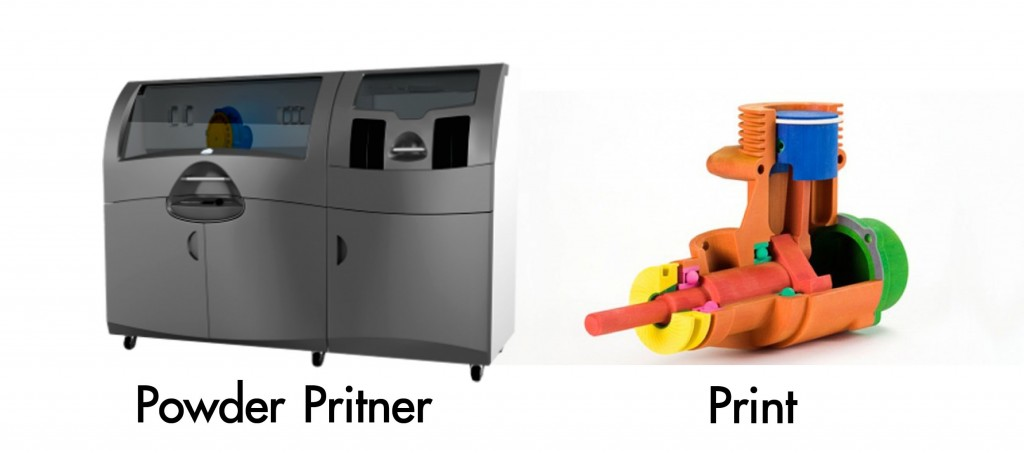Powder Printer