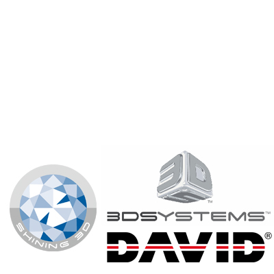 FrontPage David 3D-System Shining3d
