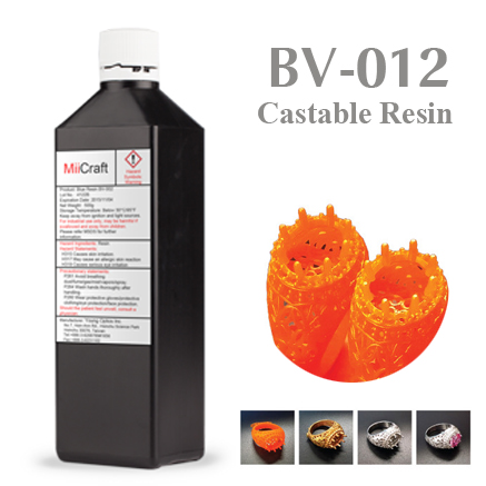 BV012 Castable Product Picture