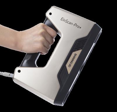 ข้อดีมากของ EinScanPro คือ มือถือจับสแกนได้