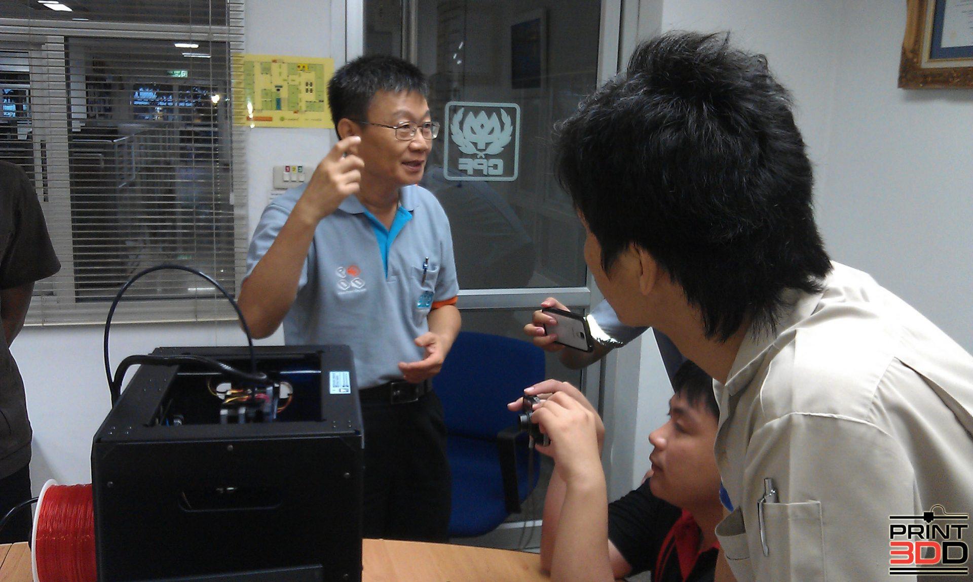 ลูกค้า Cpf Print3dd Thailand 3d Printer 3d Scanner Store