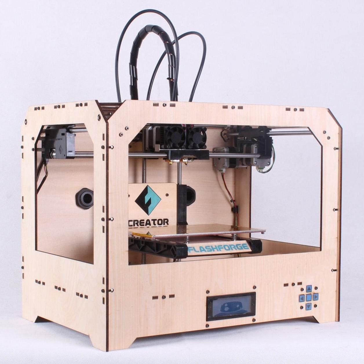 รีวิว เครื่องพิมพ์ 3 มิติ Flashforge Creator 2หัว 3D Printer