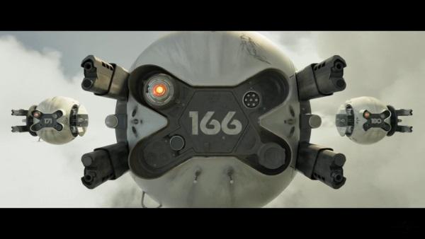 Oblivion Drone166 ABS สีขาว และ PLA สีดำ ลงสี