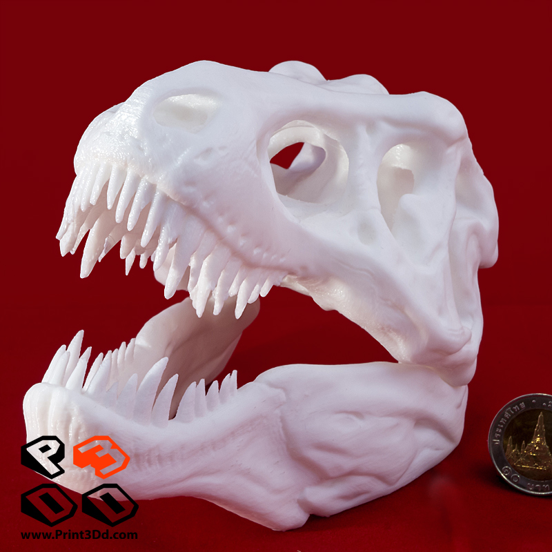 3D Printing โครงกระดูก T-Rex