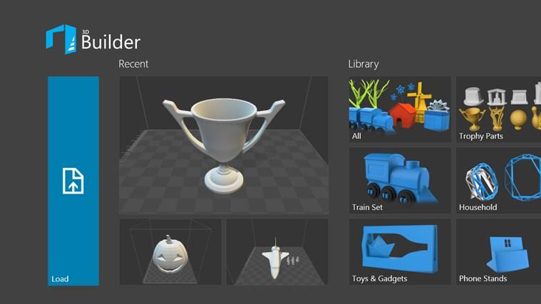 3D Builder ปรับปรุงใหม่ เพิ่มเครื่องมือออกแบบ และพิมพ์งานสามมิติ