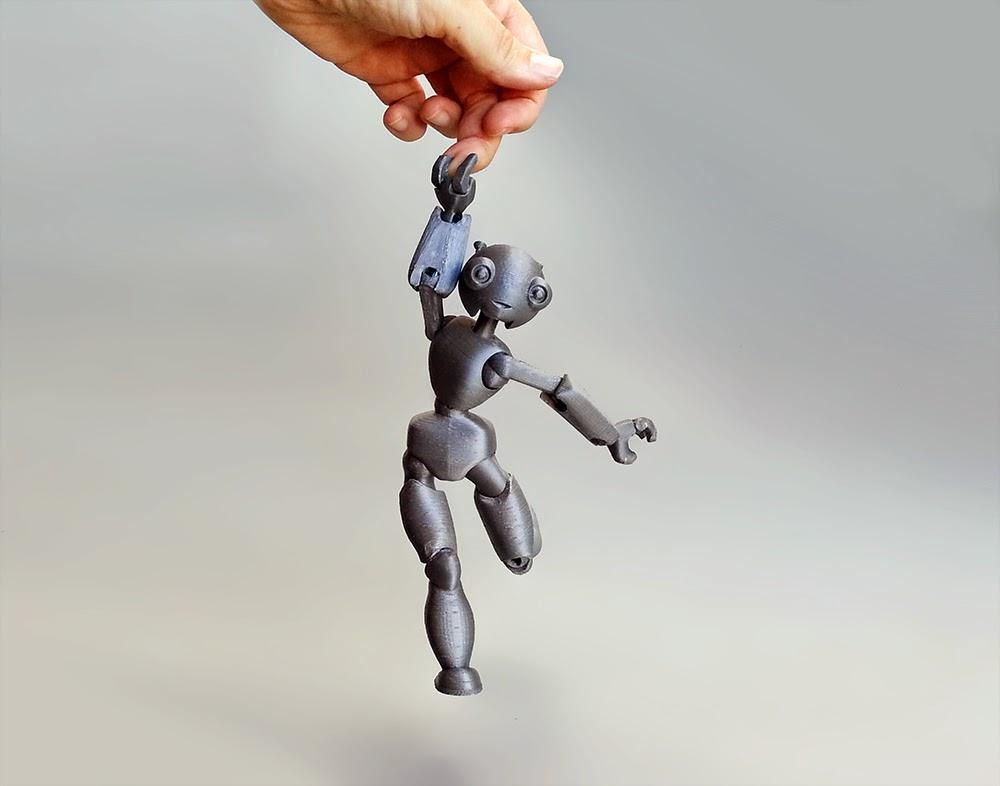 นี่คือสิ่งที่เกิดขึ้นเมื่อคุณยื่นเครื่องพิมพ์สามมิติให้กับคนทำตุ๊กตา