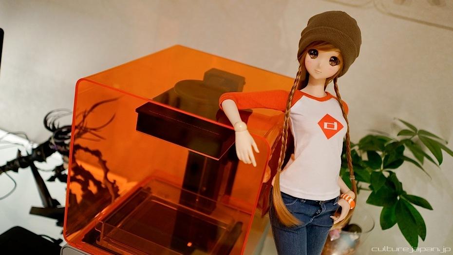3D Printer กับการผลิต Mirai Suenaga Smart Doll
