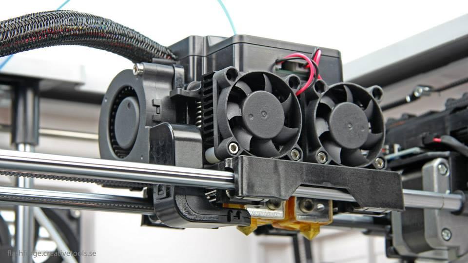 วิธีการประกอบ Turbo Fan สำหรับเครื่อง Flashforge Creator Pro