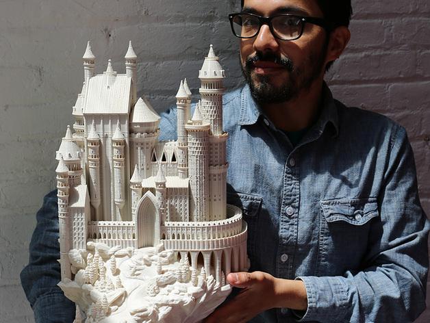 3D Print Castle ปราสาทในนิยาย (ภาพพร้อม Video)
