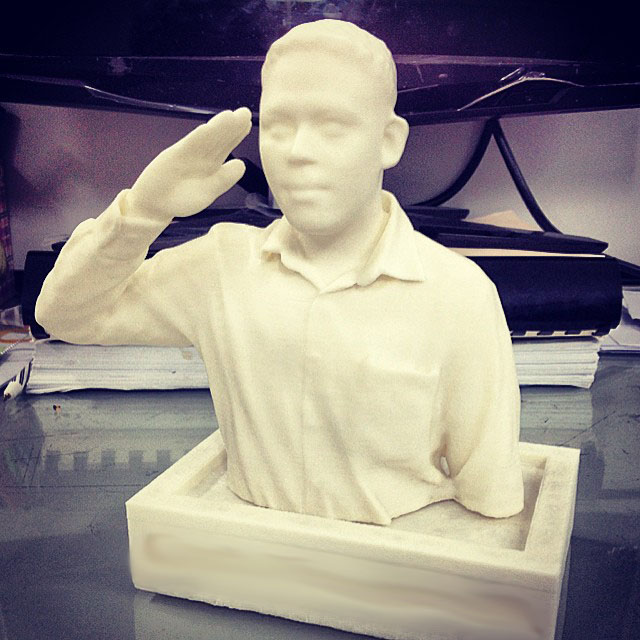 3D Printing รูปคนเหมือน ภาค2