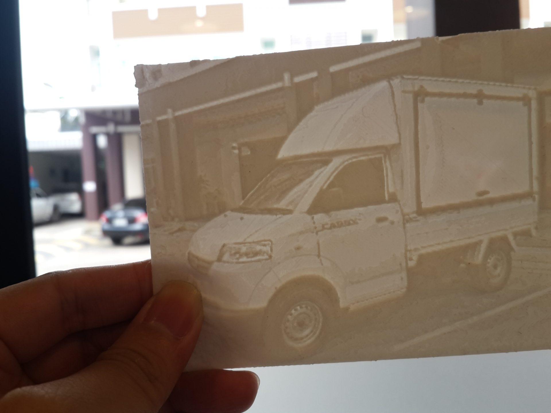 3D Print Workshop4 : ทำภาพ 3มิติ Lithophane