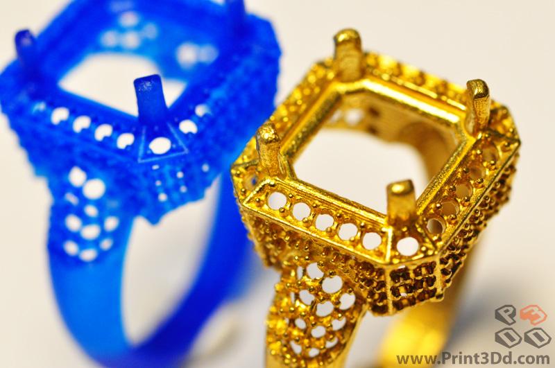 ผลงาน Jewelry จากเครื่อง MiiCraft+
