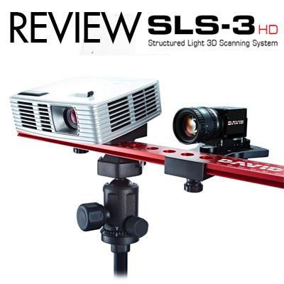 รีวิว David SLS3 HD 3D Scanner