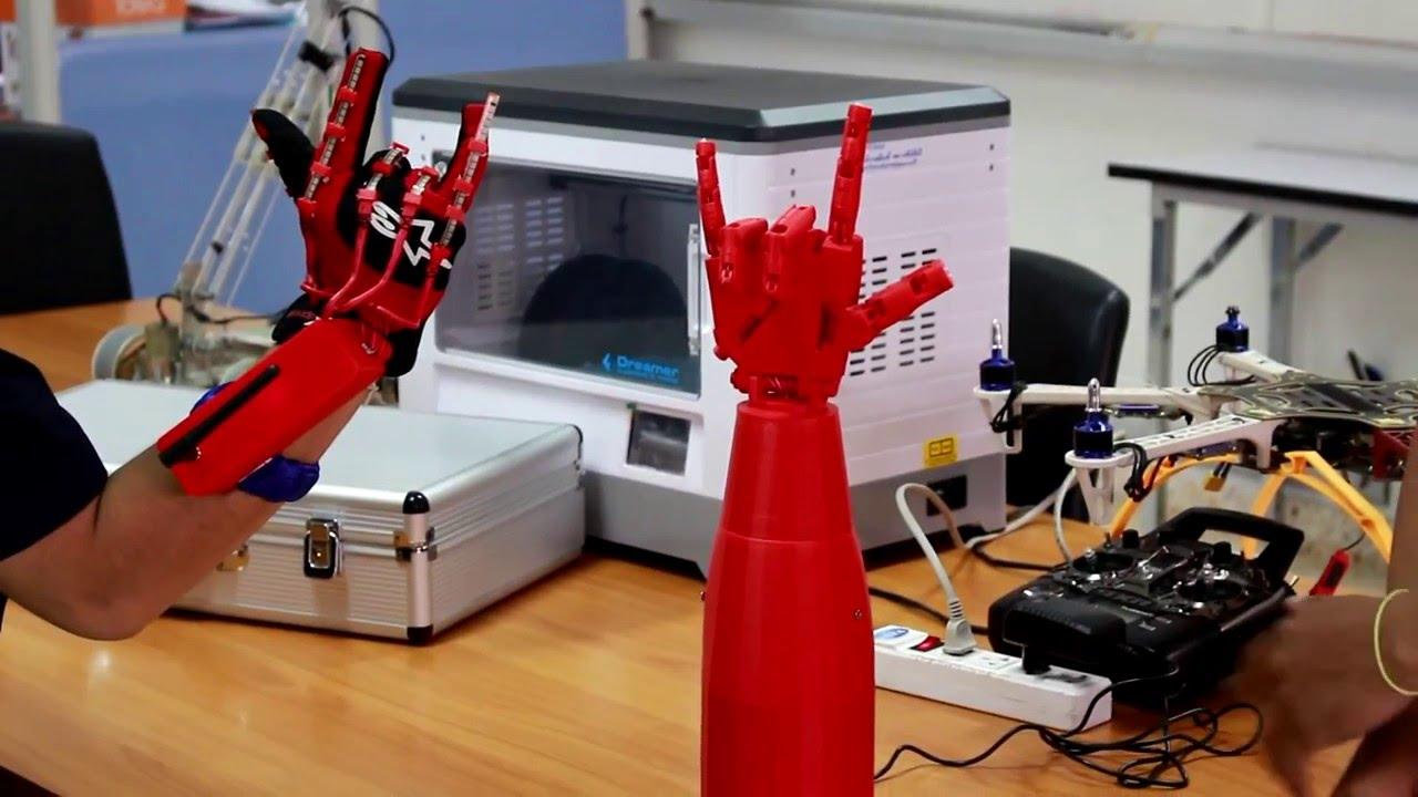 นักศึกษาราชภัฏอุดรฯ พัฒนาขนกลอัจฉริยะจากเครื่องพิมพ์สามมิติ