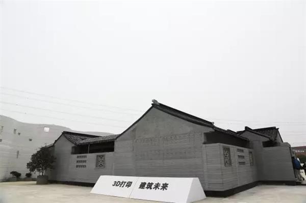 บริษัท winsun สร้างสวนโบราณสมัยซูโจวจากเครื่องพิมพ์ 3 มิติ