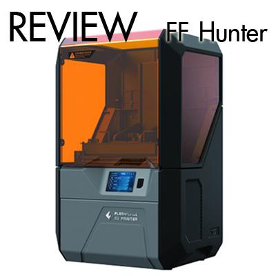 Review Flashforge Hunter เครื่องพิมพ์ 3มิติ ระบบเรซิ่น