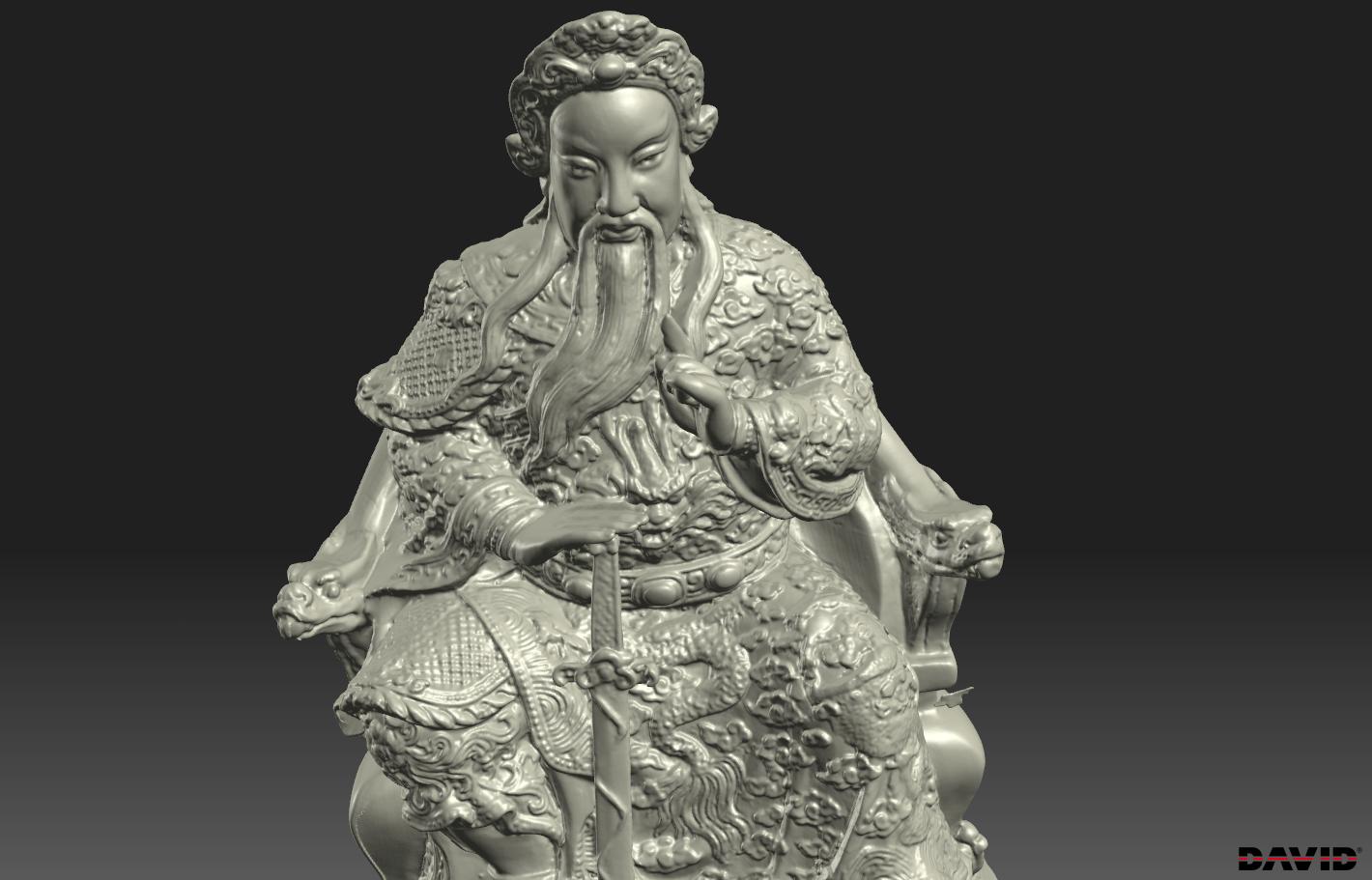 3D Scan เจ้าพ่อเสือ เพื่องานพิมพ์ 3มิติ