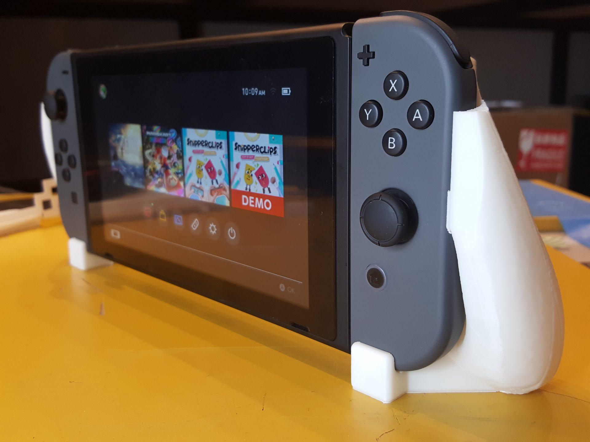 งานจาก FF Guider2 พิมพ์ มือจับ Nintendo Switch ด้วย ABS