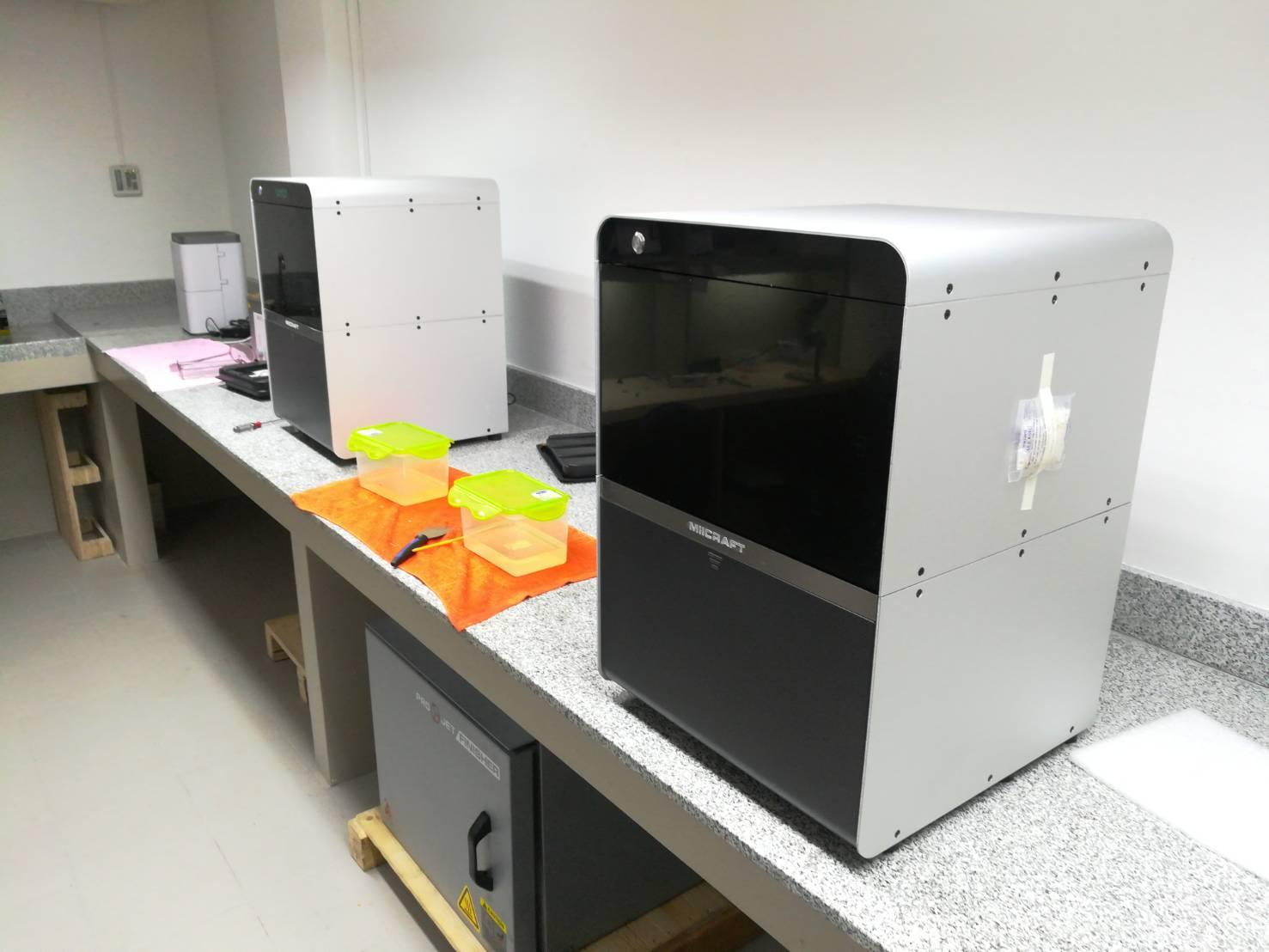 ลูกค้า : PC Dental Lab MiiCraft125 เครื่องที่2