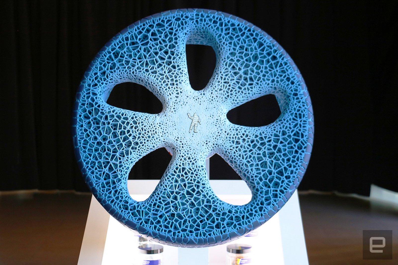 ยางล้อ 3D ของ Michelin จะสะกดคุณให้ตะลึง