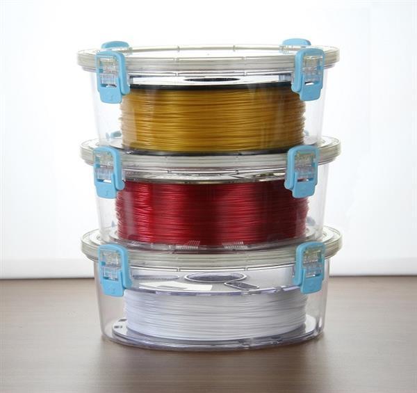 PrintDry กล่องป้องกันความชื้นสำหรับเส้นพลาสติกพิมพ์ 3D