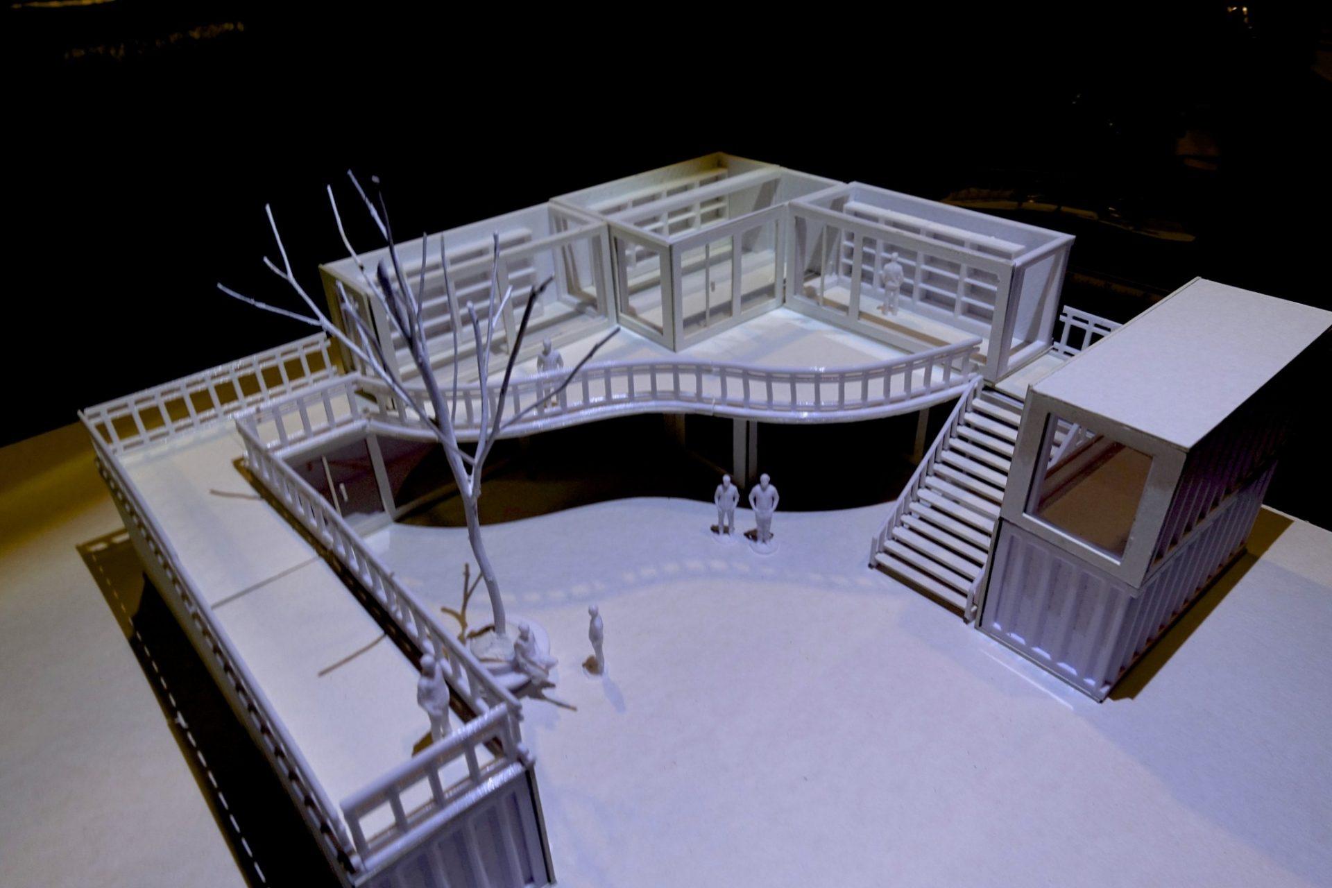 งานสถาปัตยกรรม จากเครื่อง 3D Printer