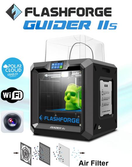 รีวิว Flashforge Guider2s ที่ได้รับการอัพเกรดเพิ่มเติมจาก Guider2
