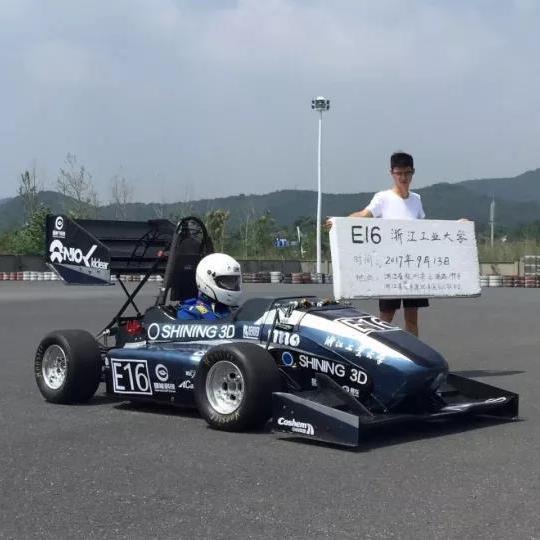 การใช้เครื่องสแกนสามมิติช่วยในการออกแบบรถแข่งของนักศึกษา