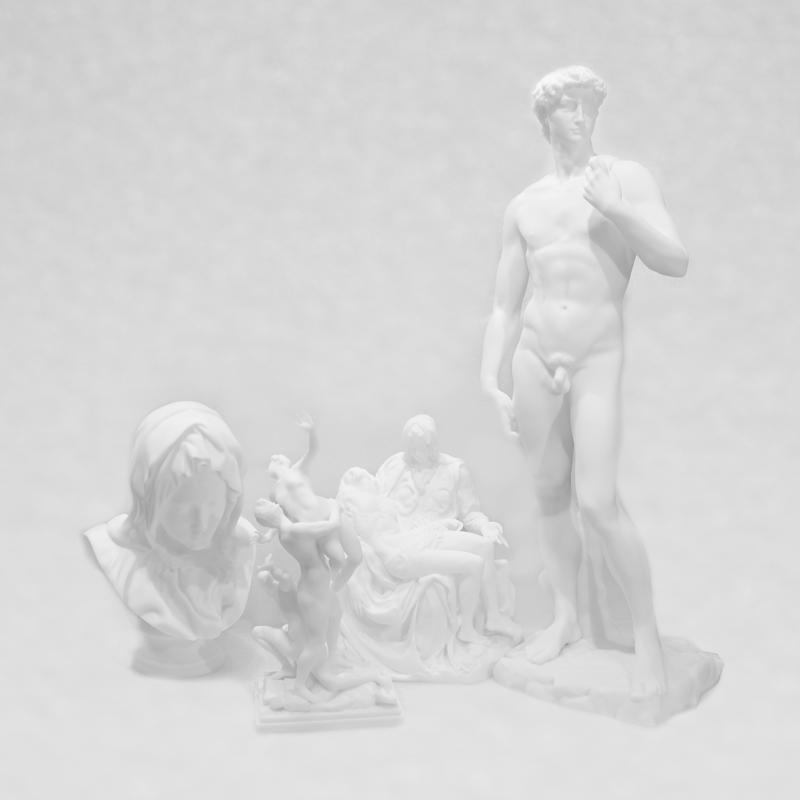 ผลงานจากเครื่องสแกน 3D และเครื่องพิมพ์ 3D รูปปั้นในพิพิธภัณฑ์ทั่วโลก