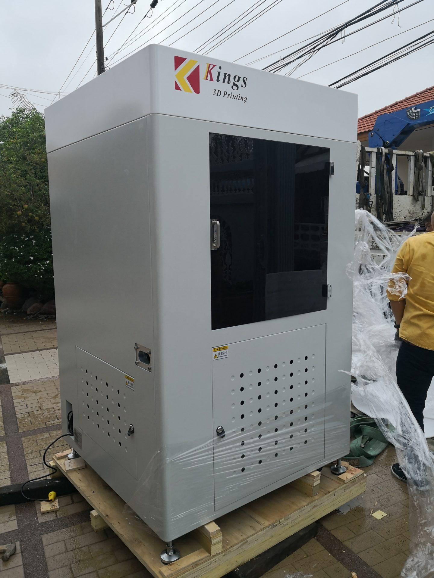 ติดตั้งเครื่อง Kings 600Pro Industrial SLA Printer