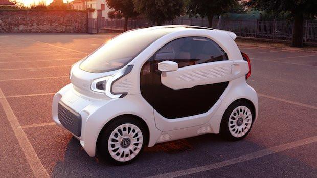 """รถยนต์ที่ใช้ไฟฟ้า""""XEV""""โดยการขึ้นรูปแบบ 3 มิติ"""