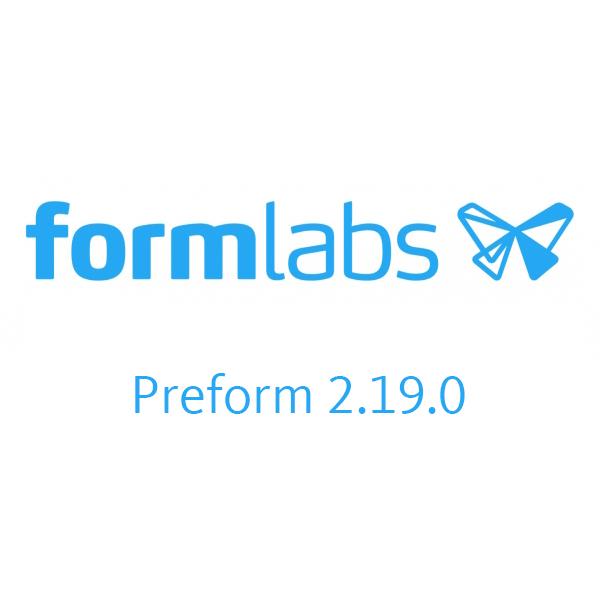 อัพเดท PreForm 2.19.0