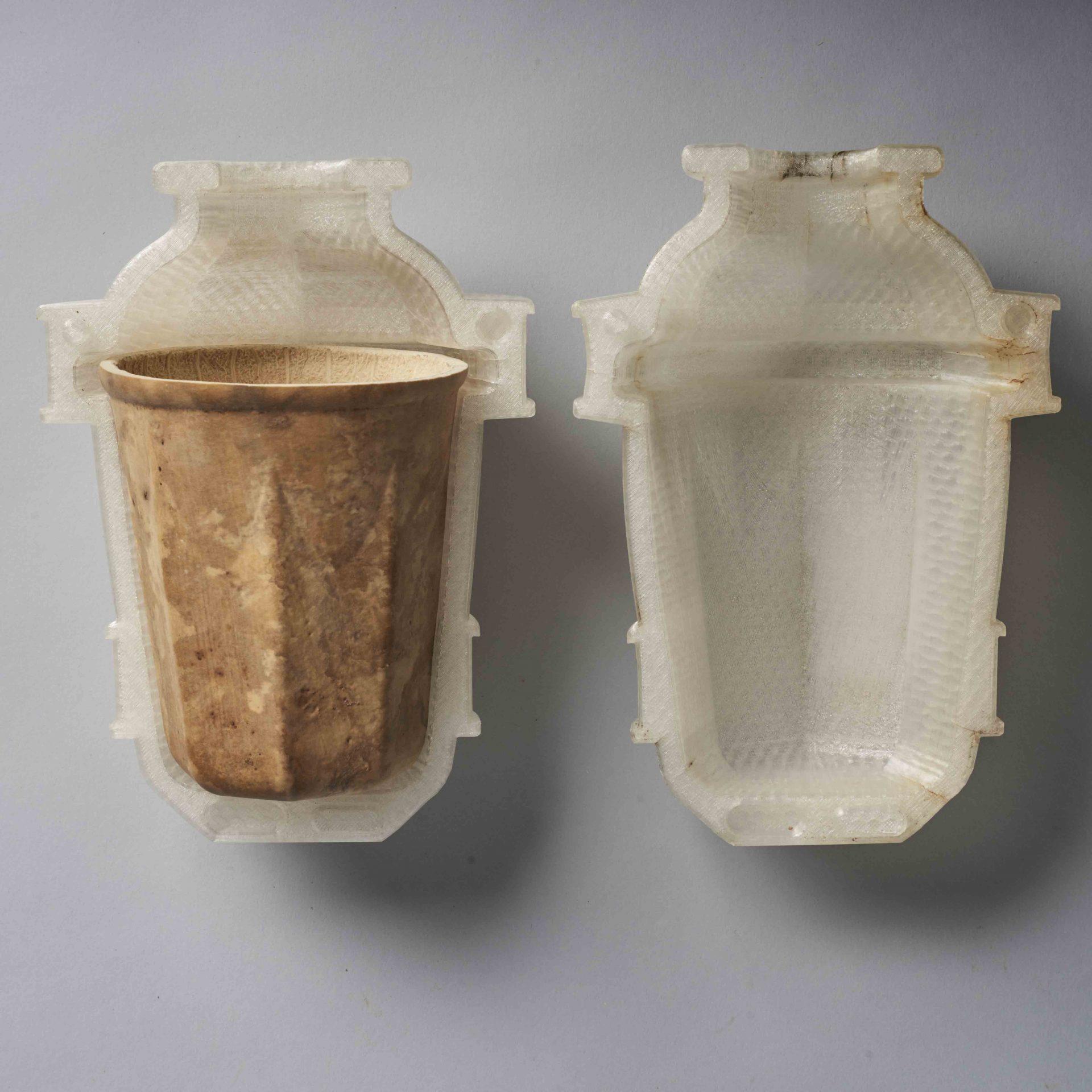 ถ้วย Hy-O จากพืชผัก ย่อยสลายได้ 100% ขึ้นรูปจาก 3D printer