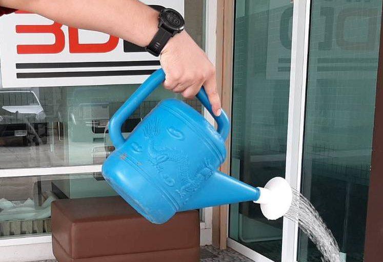 สร้างหัวฝักบัวรดน้ำ เพื่อยืดเวลาให้รดน้ำได้นานขึ้นด้วยเครื่องพิมพ์ 3 มิติ