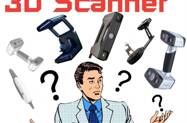 3D Scanner เลือกอย่างไง? ให้เหมาะกับคุณ (Update 2021)