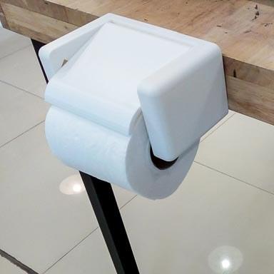 ที่แขวนม้วนกระดาษชำระสำหรับคนใจร้อน