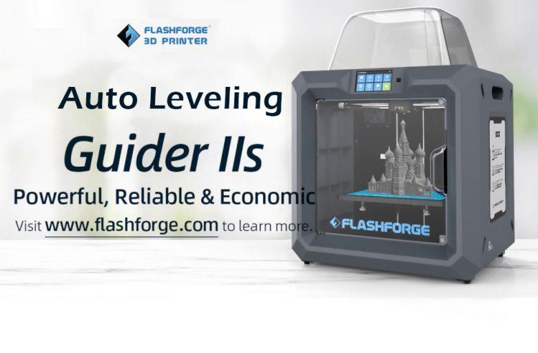Auto leveling ในเฟิร์มแวร์ใหม่ของ Flashforge Guider II series