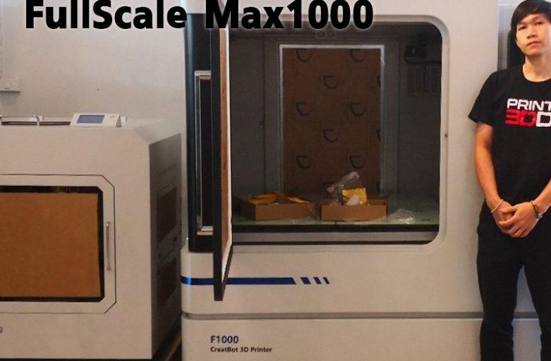 Preview เครื่องพิมพ์สามมิติ ใหญ่มากขนาด 1000mm