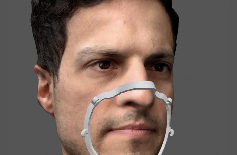 Mask Fitter เข้ารูปหน้าของแต่ละคนด้วย 3D Scanner/ 3D Printer