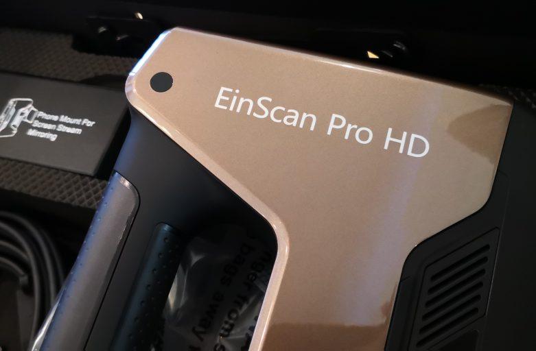 พรีวิว EinScan Pro HD สแกนเนอร์ 3มิติ มือถือความละเอียดสูง